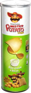 Mister Potato Crisps Sour Cream & Onion