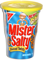 Mister Salty Pretzel Twists