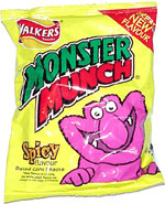 Monster Munch Spicy Flavour Baked Corn Snacks