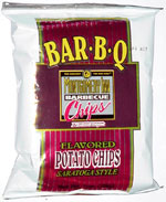Montgomery Inn Barbecue Flavored Saratoga Style Potato Chips