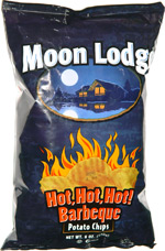 Moon Lodge Hot, Hot, Hot! Barbeque Potato Chips | 150 x 228 jpeg 21kB