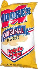 Moore's Original Potato Chips