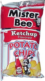 Mister Bee Ketchup Flavored Potato Chips