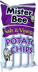 Mister Bee Salt & Vinegar Potato Chips