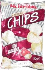 Mr. Knabbits Kartoffel Chips Mit Paprika