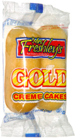 Mrs. Freshley's Gold Creme Cakes