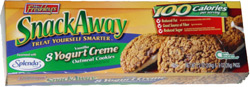 Mrs. Freshley's Snack Away Vanilla Yogurt Creme Oatmeal Cookies