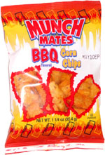 Munch Mates BBQ Corn Chips