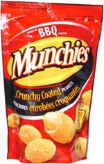 Munchies Crunchy Coated Peanuts BBQ