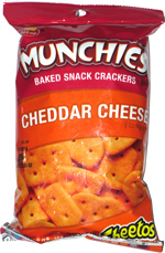 Munchies Baked Snack Crackers Cheddar Cheese