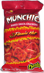 Munchies Baked Snack Crackers Flamin' Hot