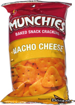 Munchies Baked Snack Crackers Nacho Cheese