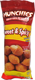 Munchies Crunchy Coated Peanuts Sweet & Spicy