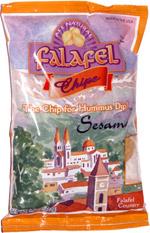 Munchz Brand Falafel Chips Sesame