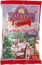 Munchz Brand Falafel Chips Spicy