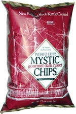 Mystic Chips Gourmet Dark Russet Potato Chips