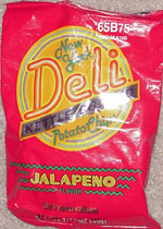 New York Deli Kettle Cooked Jalapeño Potato Chips