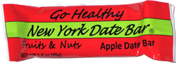 Go Healthy New York Date Bar Fruits & Nuts Apple Date Bar