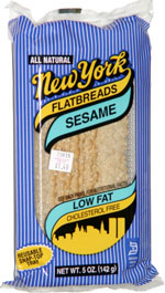 New York Flatbreads Sesame