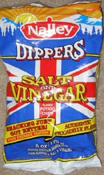 Nalley Dippers Salt and Simulated Vinegar Potato Chips