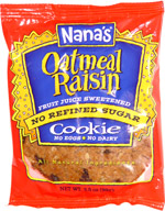 Nana's Oatmeal Raisin Cookie