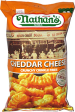Nathan's Famous Cheddar Cheese Crunchy Crinkle Fries