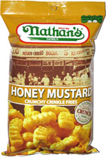 Nathan's Famous Honey Mustard Crunchy Crinkle Fries