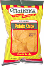 Nathan's Famous Favorites Original Potato Chips