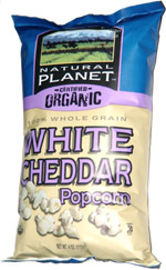 Natural Planet Certified Organic White Cheddar Popcorn