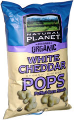 Natural Planet Certified Organic White Cheddar Pops