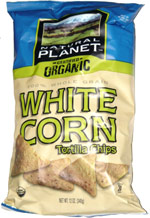 Natural Planet Certified Organic White Corn Tortilla Chips