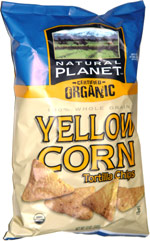 Natural Planet Certified Organic Yellow Corn Tortilla Chips