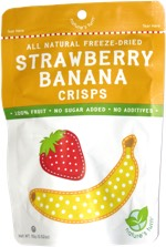 Nature's Turn All Natural Freeze-Dried Strawberry Banana Crisps