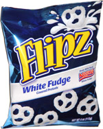 Nestlé Pretzel Flipz White Fudge Coated Pretzels