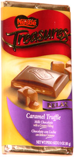 Nestle Treasures Relax Caramel Truffle