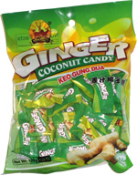 New B.C.N. Ginger Coconut Candy Keo Gung Dua