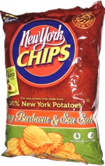 New York Chips Wavy Barbecue & Sea Salt