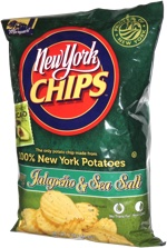 New York Chips Jalapeño & Sea Salt