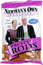 Newman's Own Organics Pretzel Rods