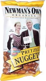 Newman's Own Organics Pretzel Nuggets