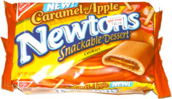 Caramel Apple Newtons Snackable Dessert Cookies