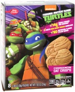 Teenage Mutant Ninja Turtles Cinnamon Oat Crisps