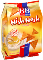 Beigel & Beigel Nish Nosh Sesame Crispy Baked Snacks