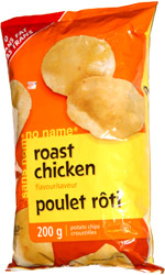 No Name Roast Chicken Flavour Potato Chips