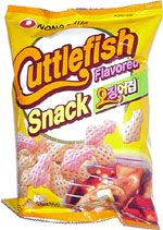 Cuttlefish Flavored Snack