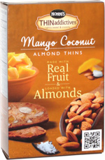 Nonni's THINaddictives Mango Coconut Almond Thins