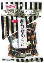 Shirakiku Nori Maki Arare rice crackers w/seaweed