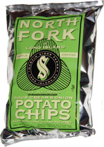 North Fork of Long Island Kettle Cooked Sour Cream and Onion Potato Chips