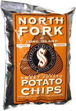 North Fork of Long Island Kettle Cooked Sweet Potato Chips