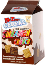 Not Just Cereal Milk Chocolate Cinnamon Flavored Crunch
